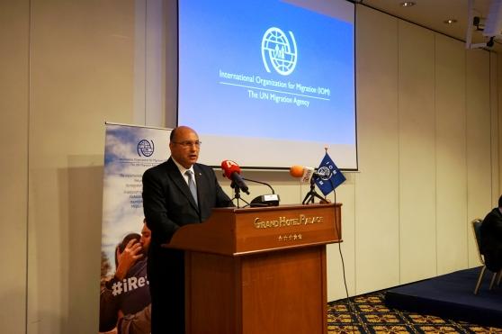 Διεθνής Οργανισμός Μετανάστευσης Τζανέτος ΦΙΛΙΠΠΑΚΟΣ 2