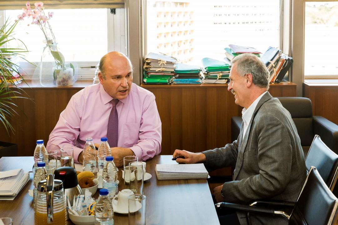 Τζανέτος ΦΙΛΙΠΠΑΚΟΣ - Συνάντηση με Γενικούς Γραμματείς (7)