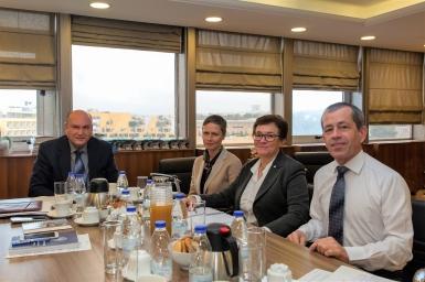 Tζανέτος ΦΙΛΙΠΠΑΚΟΣ- Συνάντηση με την Eπικεφαλής της Διεθνούς Επιτροπής του Ερυθρού Σταυρού