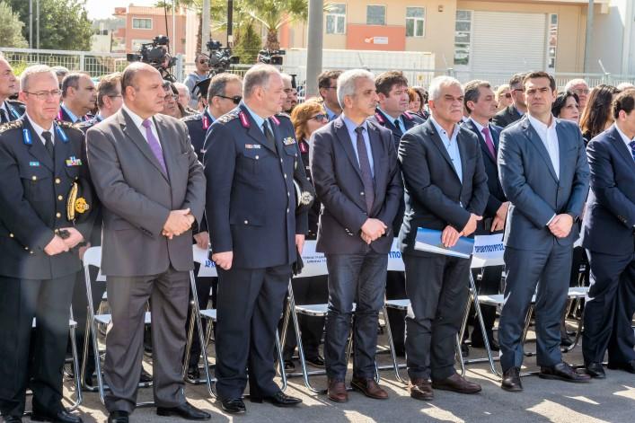 Τζανέτος ΦΙΛΙΠΠΑΚΟΣ - Υποδιεύθυνση Ασφάλειας Δυτικής Αττικής - Πρωθυπουργός Αλέξης ΤΣΙΠΡΑΣ (1)