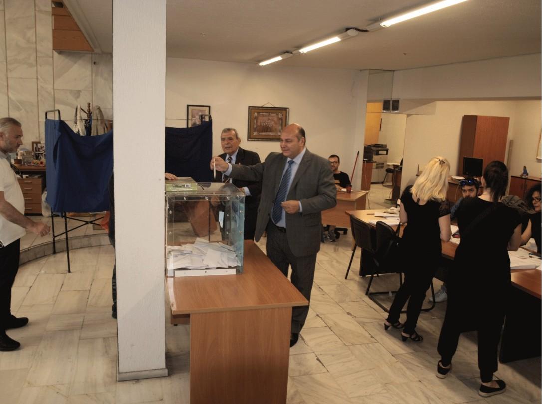 Τζανέτος ΦΙΛΙΠΠΑΚΟΣ - Εκλογές ΜΑΝΙΑΤΩΝ