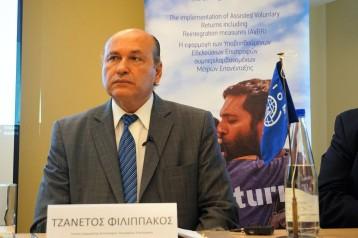 Τζανέτος ΦΙΛΙΠΠΑΚΟΣ - Βράβευση από τον ΔΟΜ στην Κρήτη (4)