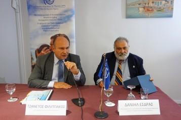 Τζανέτος ΦΙΛΙΠΠΑΚΟΣ - Βράβευση από τον ΔΟΜ στην Κρήτη (2)