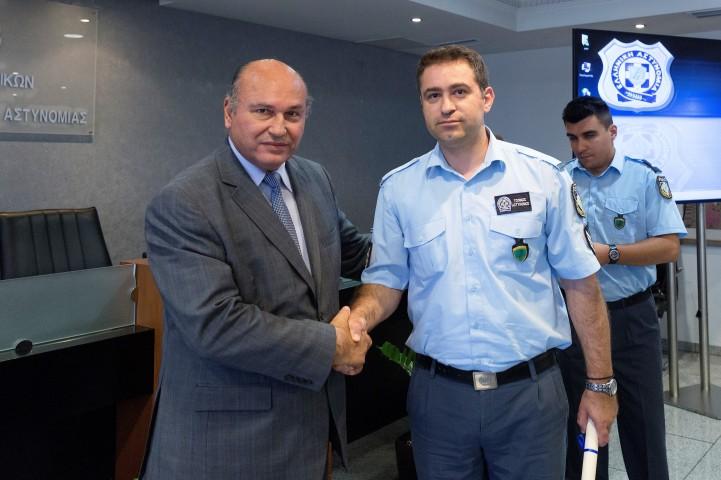 Τζανέτος ΦΙΛΙΠΠΑΚΟΣ - Διήμερη Εκπαιδευτική Επιμόρφωση (45) «Τοπικών Αστυνόμων»(δ)