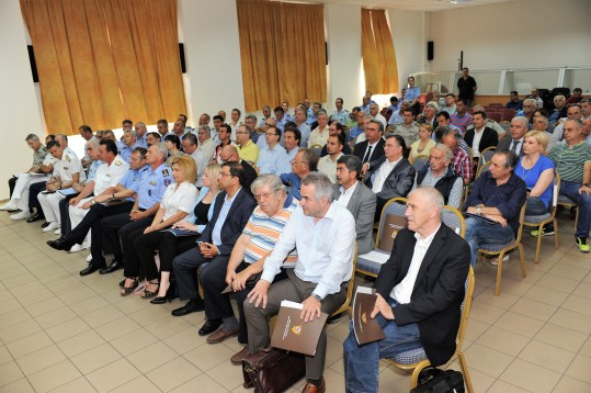 Τζανέτος ΦΙΛΙΠΠΑΚΟΣ - Σύσκεψη για την τρέχουσα αντιπυρική περίοδο στο Ε.Σ.Κ.Ε. (δ)