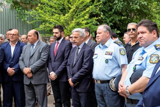 Τζανέτος ΦΙΛΙΠΠΑΚΟΣ - Τρισάγιο στη μνήμη των αδικοχαμένων Αστυνομικών (δ)