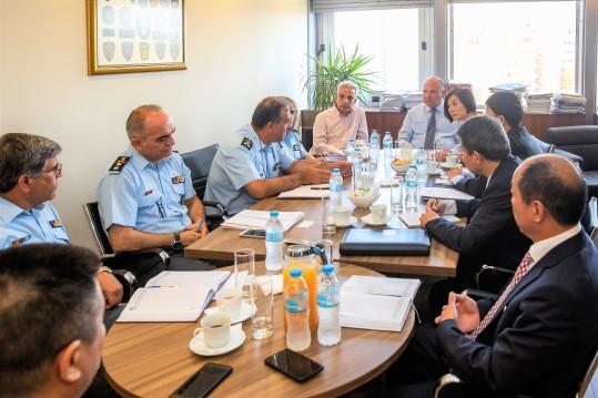 Τζανέτος ΦΙΛΙΠΠΑΚΟΣ -Συνάντηση με Διπλωματικές Αρχών της Λαϊκής Δημοκρατίας της Κίνας 2