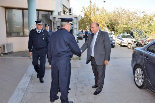 Τζανέτος ΦΙΛΙΠΠΑΚΟΣ - Συναντήση με υπηρεσιακούς παράγοντες της Ελληνικής Αστυνομίας και του Λιμενικού Σώματος – Ελληνικής Ακτοφυλακής(2)