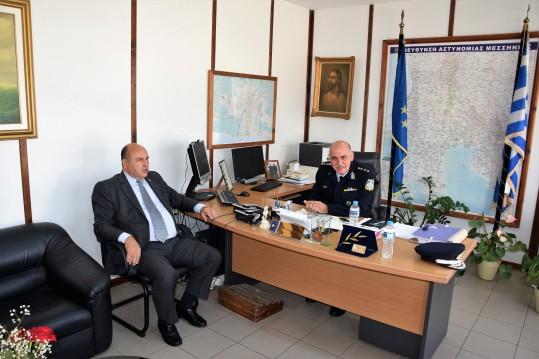 Τζανέτος ΦΙΛΙΠΠΑΚΟΣ - Συναντήση με υπηρεσιακούς παράγοντες της Ελληνικής Αστυνομίας και του Λιμενικού Σώματος – Ελληνικής Ακτοφυλακής(3)