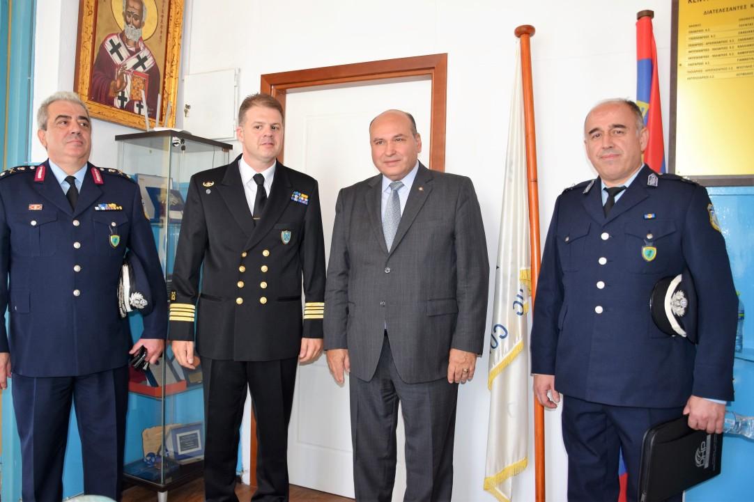 Τζανέτος ΦΙΛΙΠΠΑΚΟΣ - Συναντήση με υπηρεσιακούς παράγοντες της Ελληνικής Αστυνομίας και του Λιμενικού Σώματος – Ελληνικής Ακτοφυλακής(7)