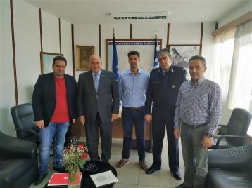 Τζανέτος ΦΙΛΙΠΠΑΚΟΣ - Συναντήση με υπηρεσιακούς παράγοντες της Ελληνικής Αστυνομίας και του Λιμενικού Σώματος – Ελληνικής Ακτοφυλακής(5)