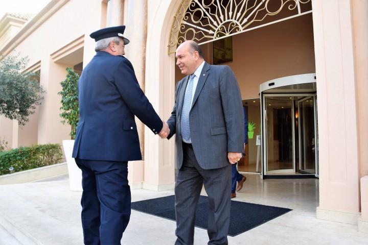 Τζανέτος ΦΙΛΙΠΠΑΚΟΣ - Συναντήση με υπηρεσιακούς παράγοντες της Ελληνικής Αστυνομίας και του Λιμενικού Σώματος – Ελληνικής Ακτοφυλακής(1)