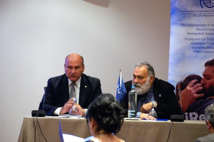 Τζανέτος ΦΙΛΙΠΠΑΚΟΣ - Δανιήλ ΕΣΔΡΑΣ - Διεθνής Οργανισμός Μετανάστευσης